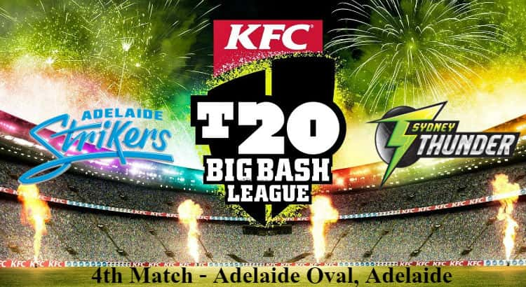 Adelaide Strikers vs Sydney Thunder Betting Tips
