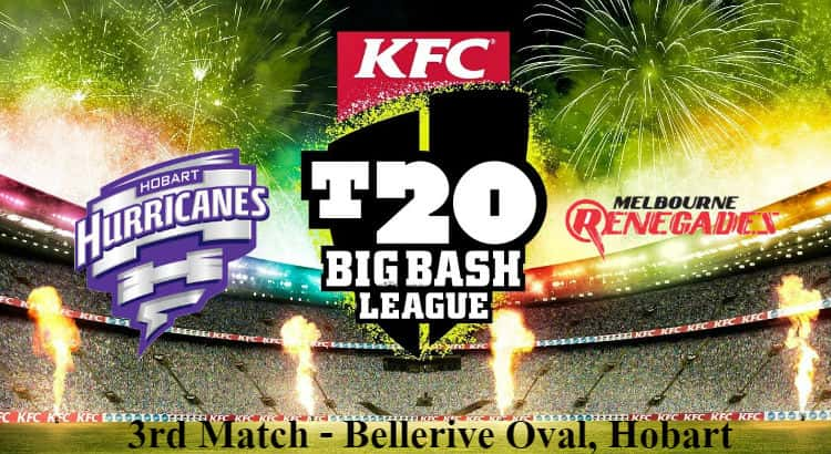 Hobart Hurricanes vs Melbourne Renegades Betting Tips