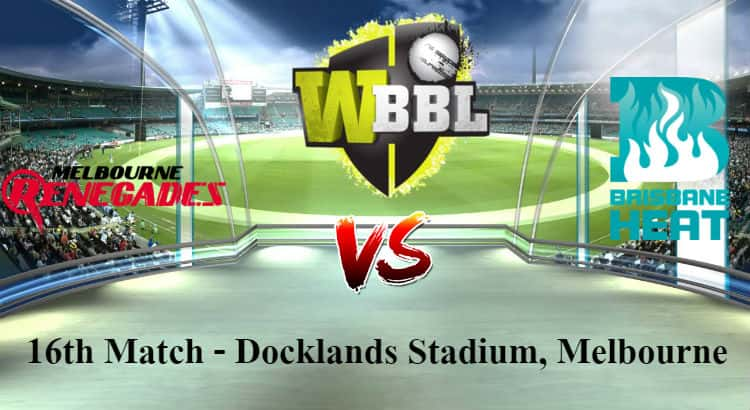Melbourne Renegades Women vs Brisbane Heat Women Betting Tips