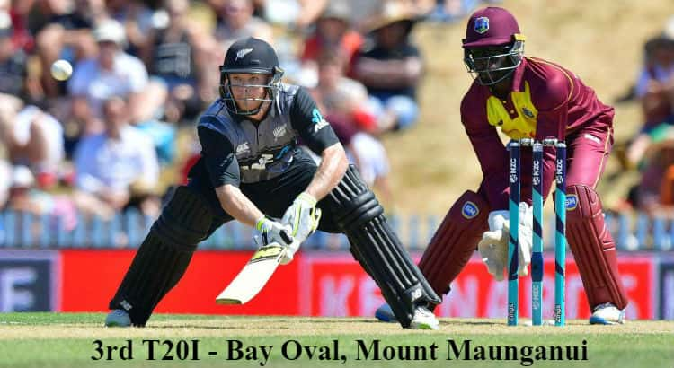 New Zealand vs West Indies 3rd T20 Betting Tips