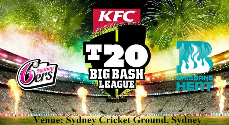 Sydney Sixers vs Brisbane Heat Betting Tips