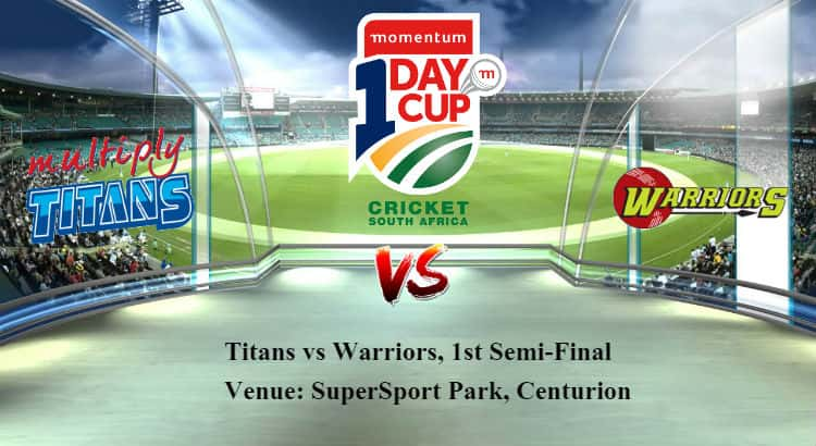 Titans vs Warriors 1st Semi-Final Betting Tips