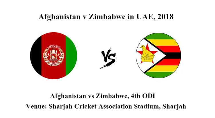 Afghanistan vs Zimbabwe 4th ODI Betting Tips