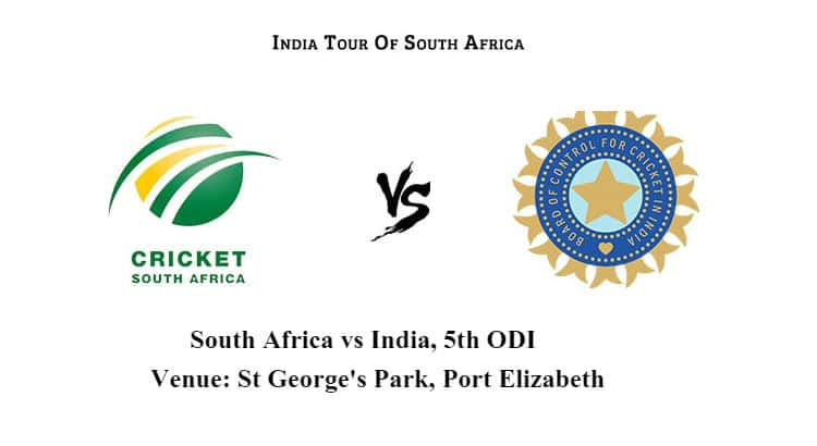 India vs South Africa 5th ODI Betting Tips