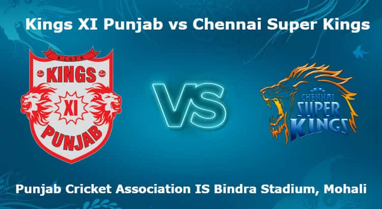 Kings XI Punjab vs Chennai Super Kings 12th T20 IPL Betting Tips