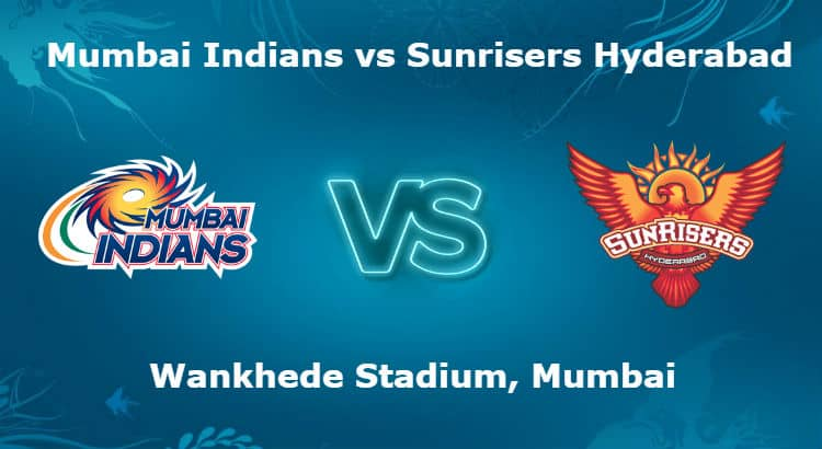 Mumbai Indians vs Sunrisers Hyderabad 23rd T20 IPL Betting Tips