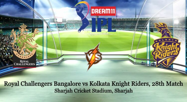 Royal Challengers Bangalore vs Kolkata Knight Riders 28th IPL